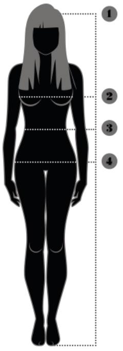 Dame størrelsesguide Razorbacks